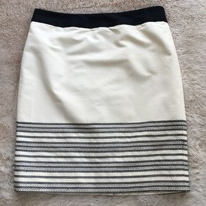 J. Crew Horizon Stripe Pencil Skirt #37986 NWT, 10